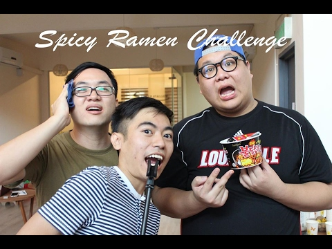 Malaysian's Trying Spicy Ramen Challenge