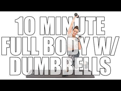 Your 10-Minute, Total-Body Dumbbell Workout