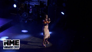 Dua Lipa performs 'Be The One' at the 2017 VO5 NME Awards