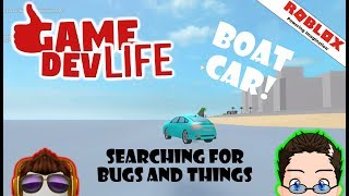 Roblox - Game Dev Life - Water Car :D