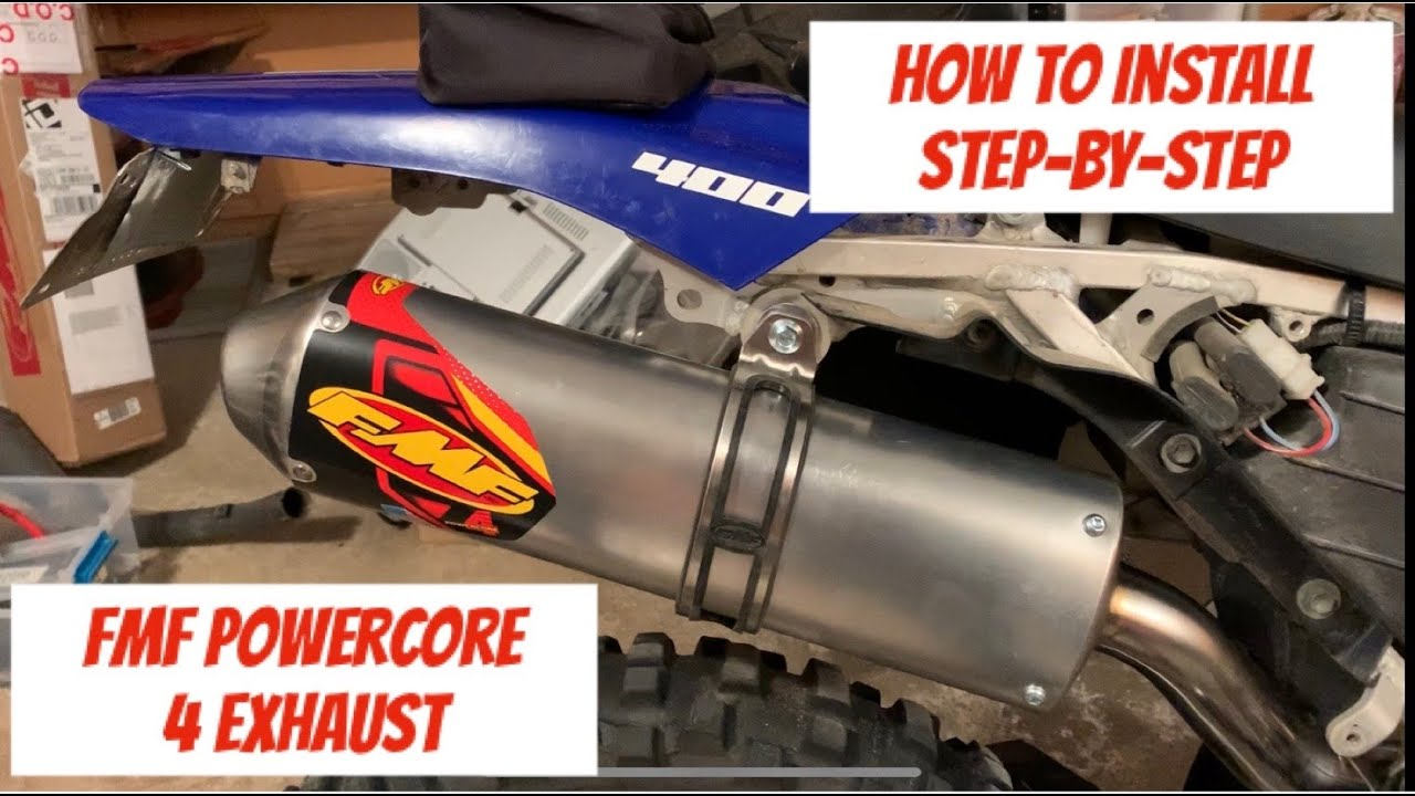 how to install fmf powercore 4 exhaust