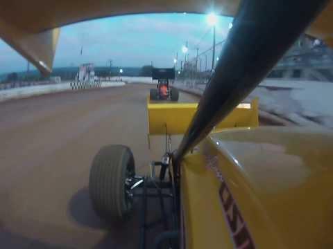 Dylan Cisney Heat Race Port Royal Speedway 8-10-13