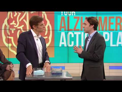 Gut Alzheimer's Connection:  Dr Marc Milstein on Dr Oz