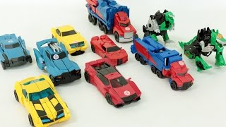 Transformers Warrior Optimus Prime Bumblebee Autobot Car Toys 트랜스포머  워리어 옵티머스 프라임 범블비 자동차 장난감 변신 동영상