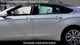 2017 Chevrolet Impala LT 4dr Sedan for sale in Sebring, FL 3