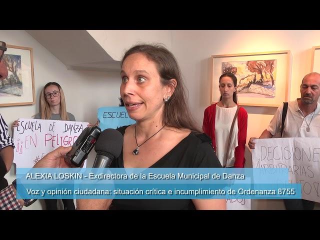 Voz ciudadana: Situación crítica de la Escuela Municipal de Danza