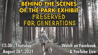video thumbnail: History Chats | Behind the Scenes with the Parks Exhibit Team