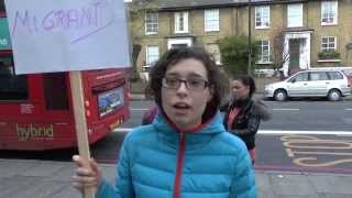 National Day of Solidarity - City and Islington College Students 17/11/15