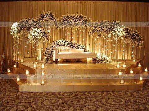 25 Awesome Indian Wedding Stage Decoration Ideas Youtube