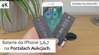 Baterie do iPhone 5,6,7 na Portalach Aukcjach. Po wymianie sprawdzajcie wydajność!
