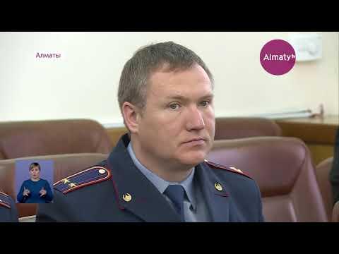 Бакытжан Сагинтаев сделал замечание главному полицейскому Алматы (18.11.19)