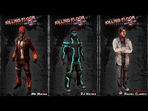 Elegant Killing Floor   End Of The Line   Summer Content DLC Characters