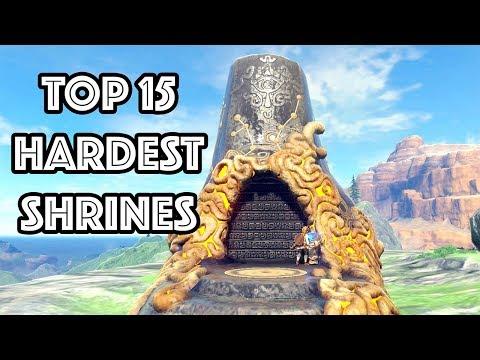 Zelda: Top 15 Hardest Shrines
