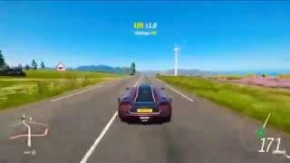 Forza horizon 4 epic jump with konigsegg agera one:1