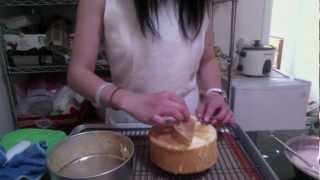 How To Make Chiffon Cake -simplest And Easiest Recipe 雪紡蛋糕