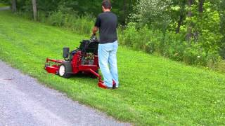 """Exmark 36"""" Turf Tracer Walk Behind Lawn Mower For Sale!"""