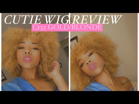 Cutie CT32 Afro Wig Review