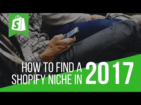 How To Find A Shopify Niche - Finding Your First Winner!