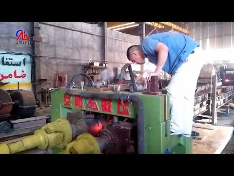 how to make steel ball with steel ball making machine , skew rolling machine ,