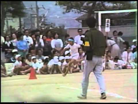古前小学校春季大運動会1986