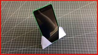 як зробити з паперу телефон схема