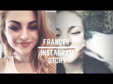 Frances Bean Cobain  Instagram Story  All Videos June 2018