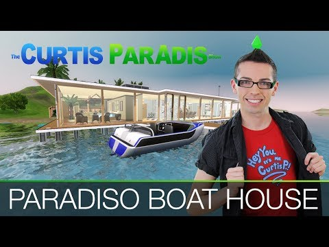 The Sims 3 - Buillding Paradiso Boat House