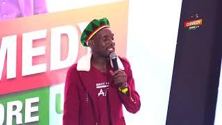 Alex Muhangi Comedy Store August 2018 - Mc Mariachi(Women of Colour)