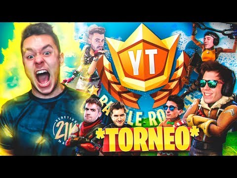 TORNEO DE YOUTUBERS DE FORTNITE #YTBattleRoyale - TheGrefg