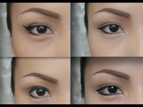 changing eye shapes with an eyeliner youtube