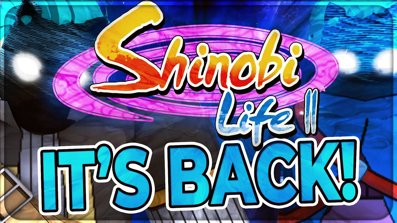 SHINOBI LIFE 2 IS COMING BACK! | WHAT THEY HAVE CHANGED!