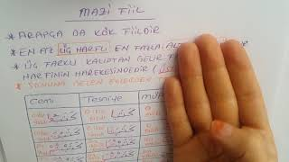 Arapça Dilbilgisi 13.Ders MAZİ FİİL (GEÇMİŞ ZAMAN )