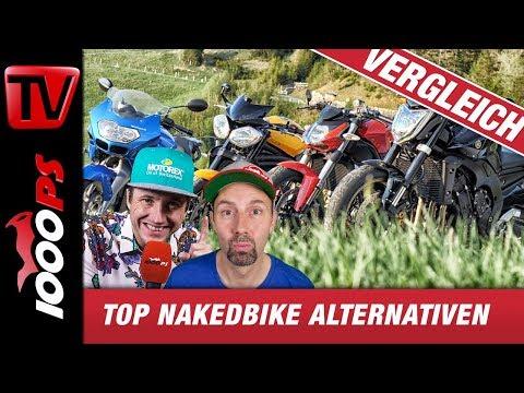 Top Nakedbike Alternativen zum halben Preis - Gebrauchtmotorrad Test