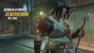 Action de la Partie sympathique avec Hanzo #8 (Overwatch)