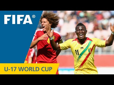Highlights: Belgium v. Mali - FIFA U17 World Cup Chile 2015
