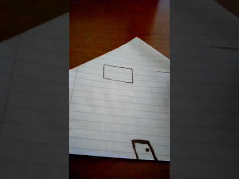 How to make a easy DIY paper house