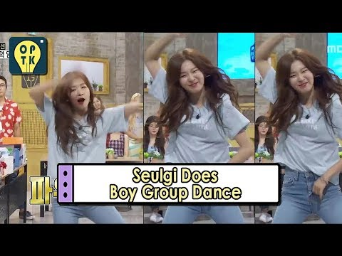 [Oppa Thinking - Red Velvet] Seulgi Does Boy Groups Dace Moves 20170731
