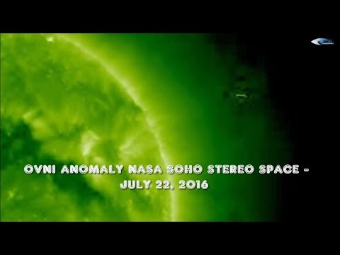 OVNI ANOMALY NASA SOHO STEREO SPACE - JULY 22, 2016