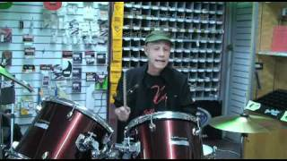 JC Music Drum Instructor Keith LeBlanc - JCTV 1.4