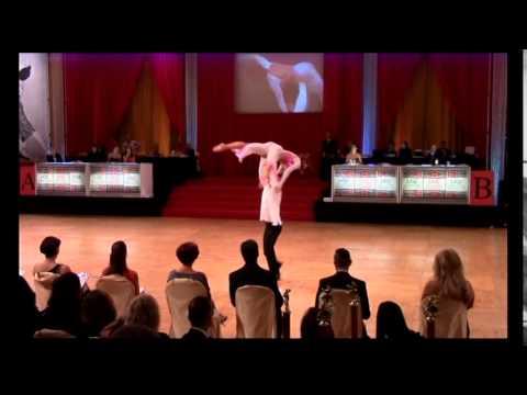 Ivan Berkovic -Dena Weiner -Professional Cabaret Theater Arts - Hollywood Dancesport Nov 1, 2014