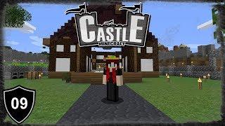 Dach über dem Kopf! | Minecraft CASTLE 🏰 | #09