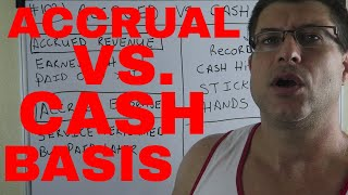 ACCRUAL BASIS VS. CASH BASIS / ACCOUNTING FOR BEGINNERS #102 / ACCRUED + DEFERRED / CPA STRENGTH