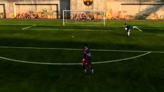 FIFA 11 pc Rabona kick accidentally