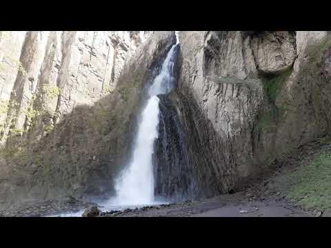 Водопад Каракая Су в Джилы-Су. Шикарный водопад на Кавказе