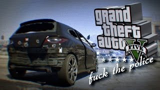 GTA 5 / Free Roam / F#ck the Police / Gameplay PC / 1080p 60fps HD