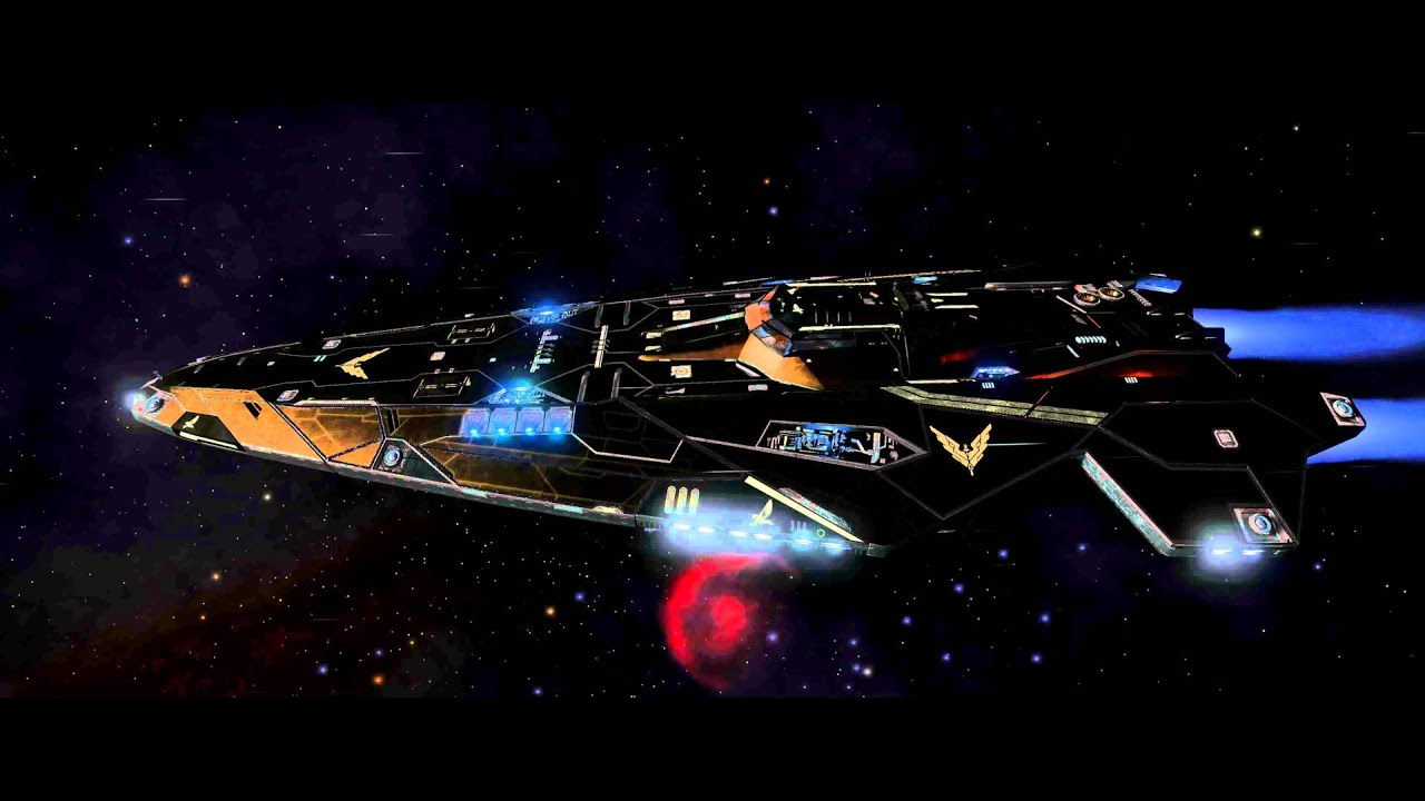 Elite: Dangerous: Gold Anaconda To Neville Horizons - YouTube
