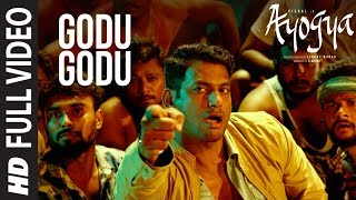 Godu Godu video Song  || Ayogya  || Vishal, Raashi Khanna | Benny Dayal, Nivas | Sam CS