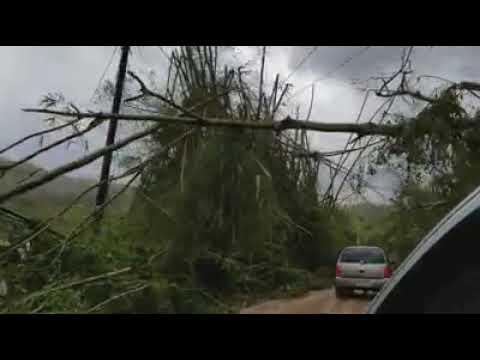 Adjuntas, Puerto Rico tras el paso del huracán Maria- Capaez