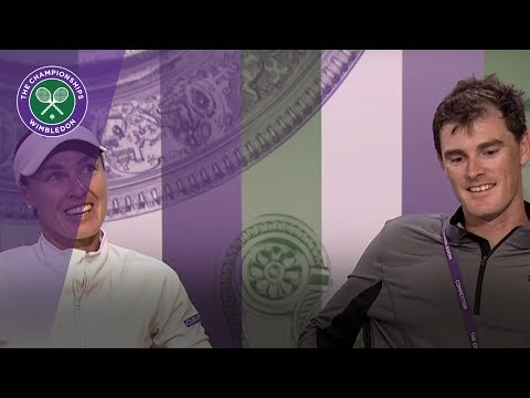 Jamie Murray & Martina Hingis Wimbledon 2017 final press conference