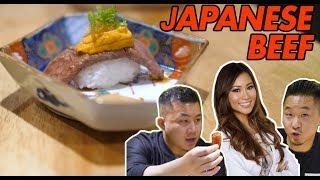 BEST JAPANESE BEEF IN THE WORLD, BETTER THAN KOBE!  (Hokkaido, Miyazaki) // Fung Bros